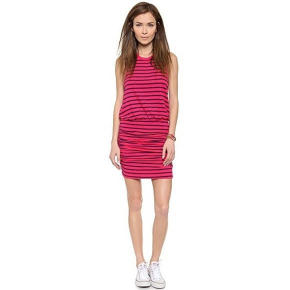 71a1782677a33 Sundry Small (1) Striped Ruched Sleeveless Dress. M 5c5ed1cbaaa5b897a2f341ea